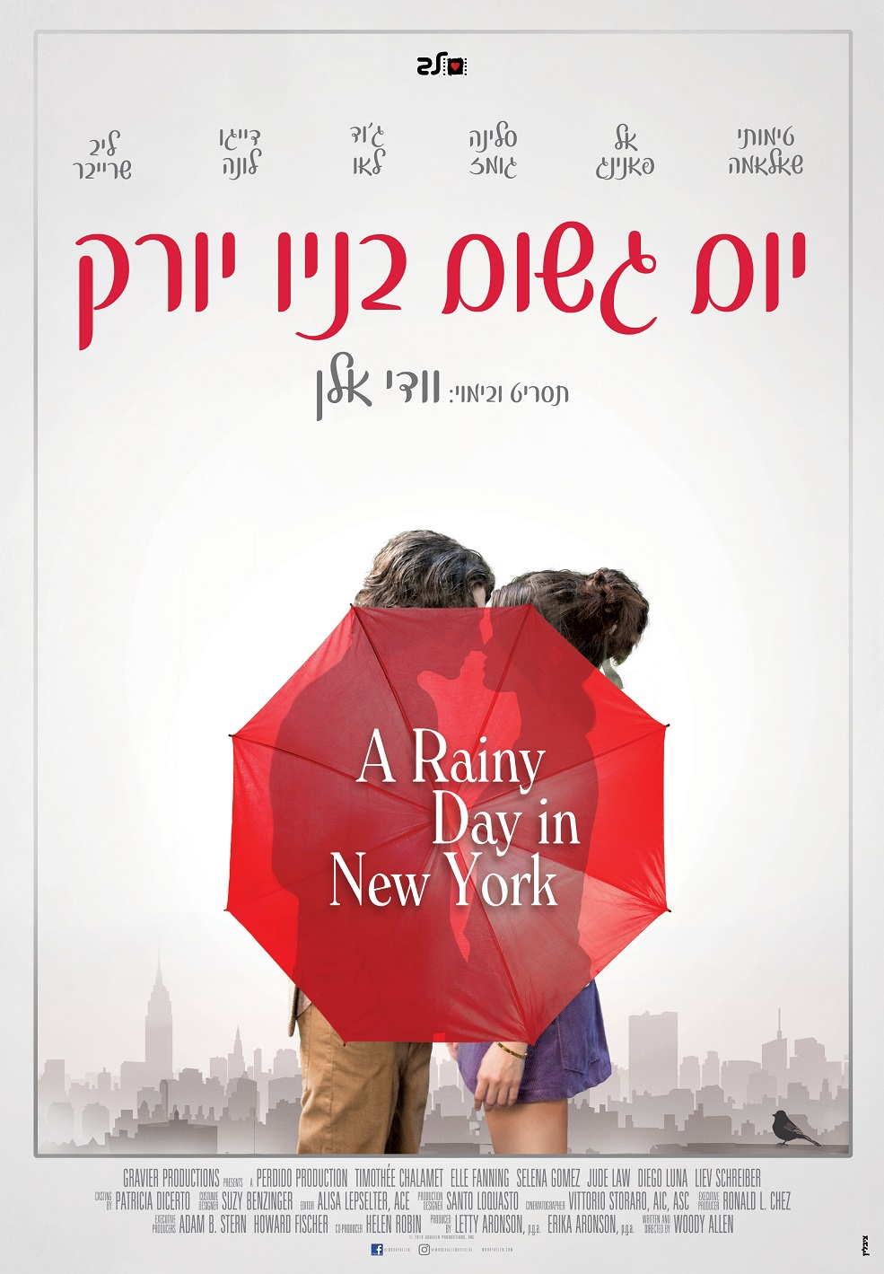 A Rainy Day in New York - maternity leave
